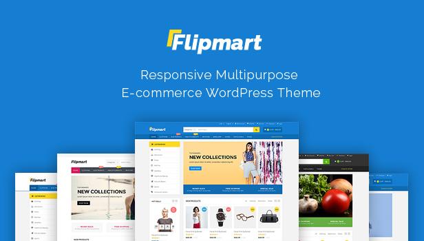 Flipmart - Responsive  Ecommerce Template - 1